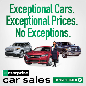 exceptional cars. exceptional prices. no exceptions. enterprice car sales. browse selection.
