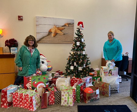 Family Promise Gift Drive Picture