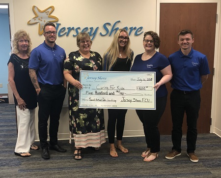 Caring For Kids $500 Donation
