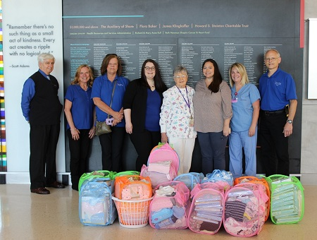 NICU Baby Drive CU and Hospital Staff
