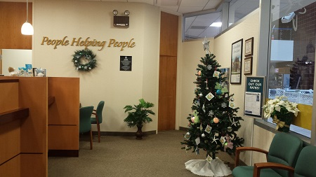 Christmas Tree from the FAA Branch