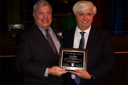 Jim Burns Presented CEO Of The Year Award