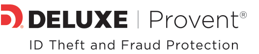 Deluxe Provent ID Theft and Protection logo