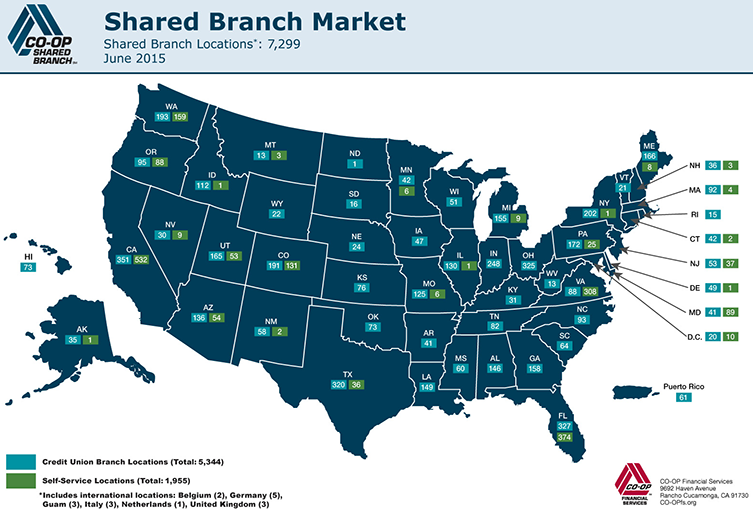 Shared Branch Map