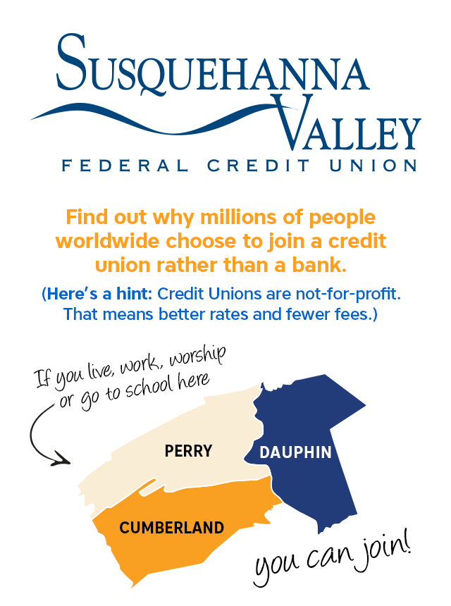 Graphic to share on social platforms that tells who can join Susquehanna Federal Credit Union